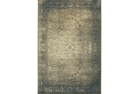 94X130 Rug-Bastile Faded Grey