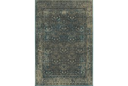 94X130 Rug-Cashel Dark Blue