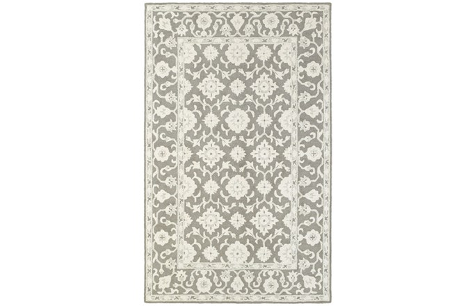 42X66 Rug-Agatha Medallion Grey - 360
