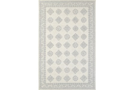 42X66 Rug-Agatha Diamonds Grey