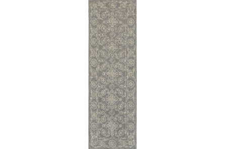 30X96 Rug-Agatha Medallion Stone