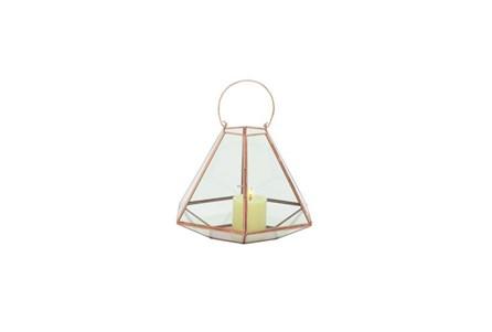 13 Inch Rust Lantern