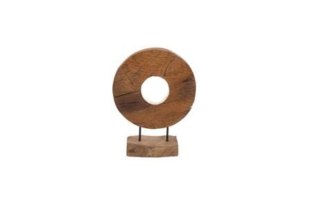 18 Inch Wood Circle Decor - Main