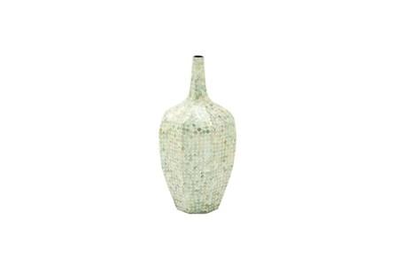 24 Inch Stone Shell Vase