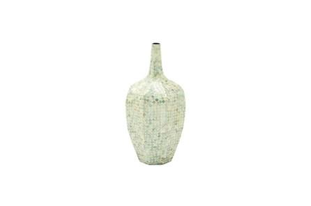 24 Inch Stone Shell Vase - Main