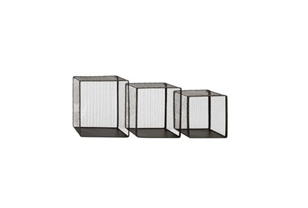 3 Piece Set Metal Wire Wall Bskt