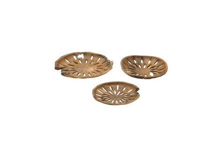 3 Piece Set Teak Bowls - Main