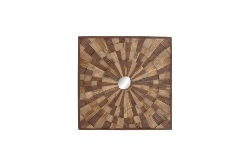 36 Inch Reclaimed Wood Wall Decor