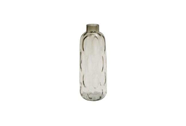17 Inch Smoke Glass Vase - 360