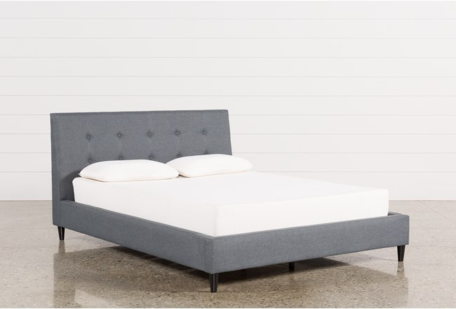 Kenneth Queen Upholstered Panel Bed - 360