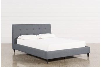 Kenneth Eastern King Upholstered Panel Bed