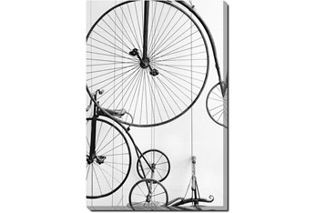 Picture-24X36 Vintage Bicycles Gallery Wrap