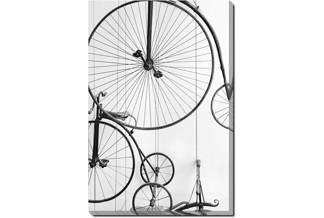 Picture-36X54 Vintage Bicycles Gallery Wrap - 360