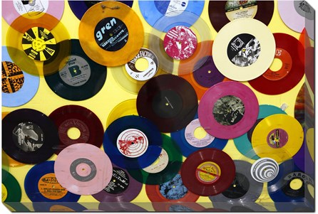36X24 36X24 Colorful Records - Main