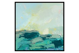 Picture-35X35 Teal Waves II