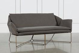Canvas Stone Washed Sofa
