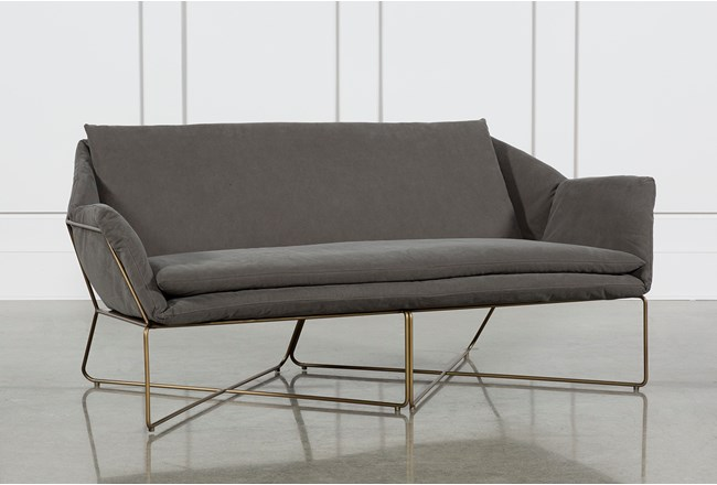 Canvas Stone Washed Sofa 360 Elements