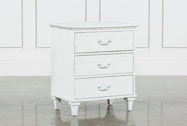 Recycled South Pine Nightstand - 360