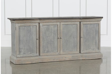 Recycled South Pine Stone Sideboard - Main