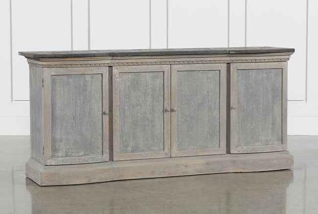 Recycled South Pine Stone Sideboard - 360