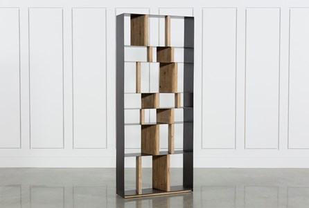 White Pine Steel Bookcase