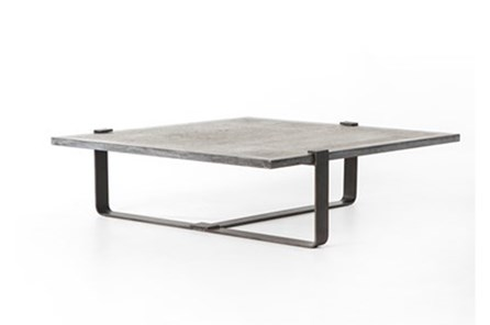 Bluestone/Rustic Black Coffee Table N+J - Main