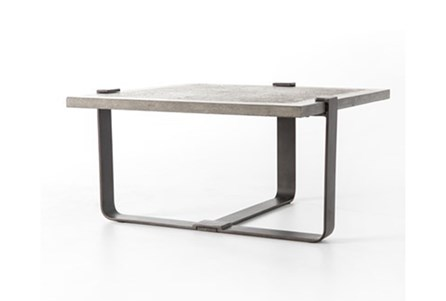 Bluestone/Rustic Black End Table N+J