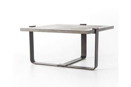 Bluestone/Rustic Black End Table N+J - Main