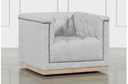 Manor Grey Swivel Chair
