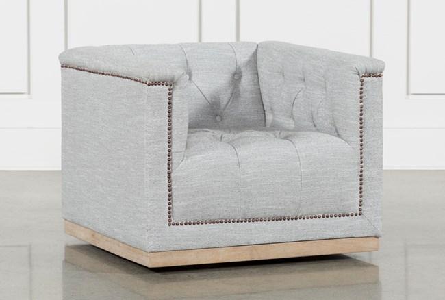 Manor Grey Swivel Chair - 360