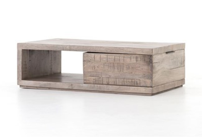 Weathered Salvage Grey Coffee Table 360 Elements