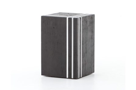 Black/Stainless Stool