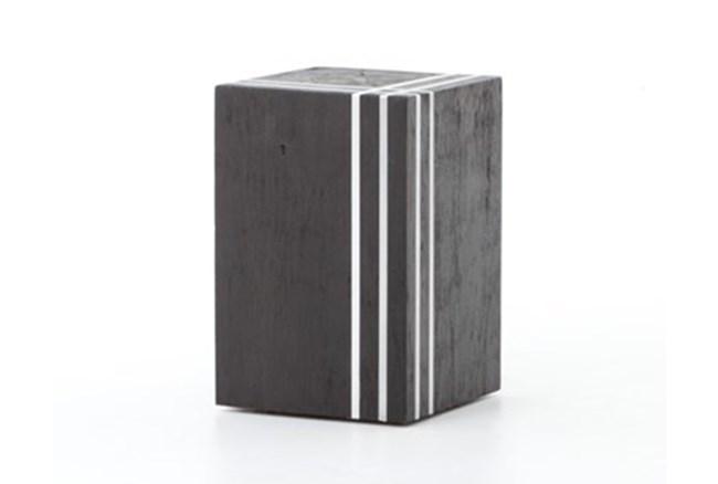 Black/Stainless Stool - 360
