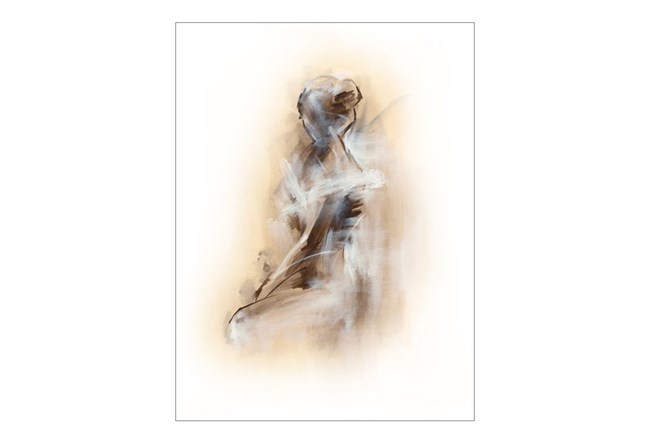 Picture-Sitting Woman 24X32 - 360