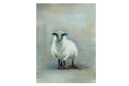 Picture-Vintage Sheep 24X32 - Main