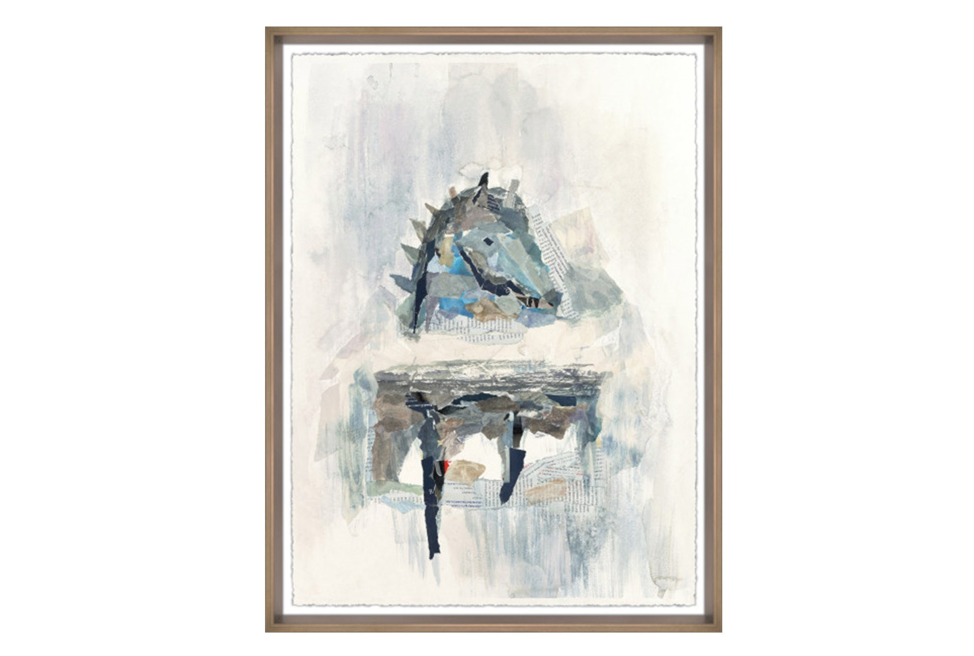 Picture-Abstract Horse II 24X32 | Living Spaces