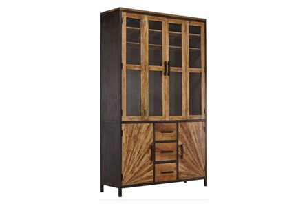 Pinwheel 3-Drawer Center Wall Cabinet