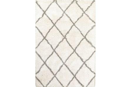 22X39 Rug-Beverly Shag Diamond Ivory