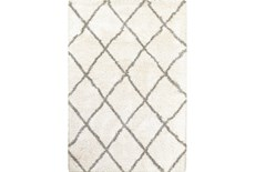 63X90 Rug-Beverly Shag Diamond Ivory