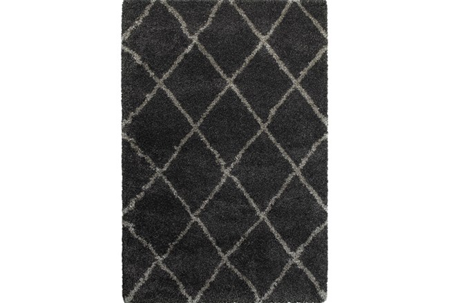 22X39 Rug-Beverly Shag Diamond Graphite - 360