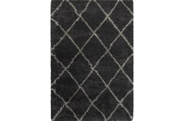 "5'3""x7'5"" Rug-Beverly Shag Diamond Graphite"