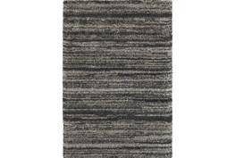 46X65 Rug-Beverly Shag Stripe Grey