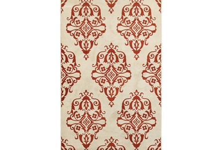 63X90 Rug-Cyra Medallion Rust
