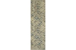 27X90 Rug-Fergus Tapestry Grey
