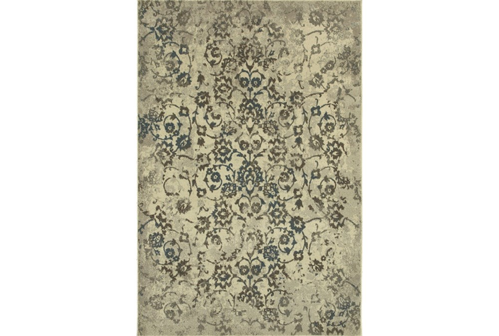 "3'8""x5'4"" Rug-Fergus Tapestry Grey"