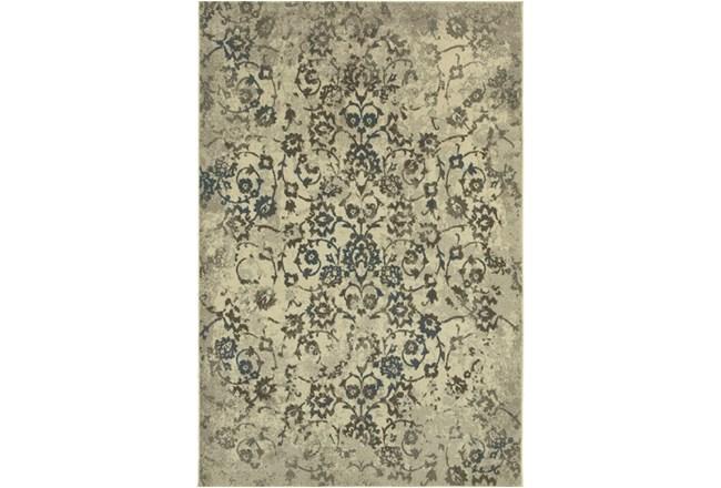 79X114 Rug-Fergus Tapestry Grey - 360