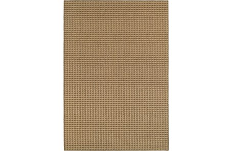63X90 Outdoor Rug-Gemma Check Brown - Main