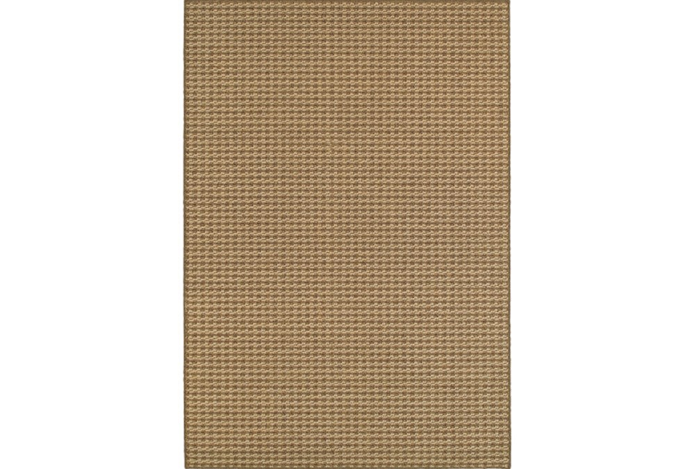 79X114 Outdoor Rug-Gemma Check Brown