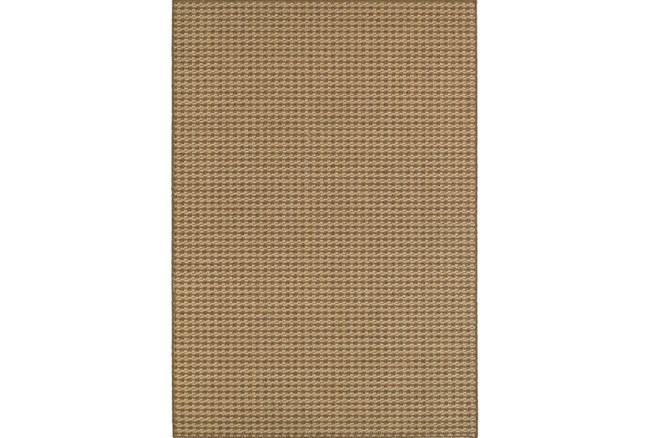 94X130 Outdoor Rug-Gemma Check Brown - 360