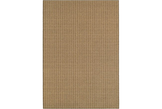 94X130 Outdoor Rug-Gemma Check Brown - 360